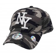 Casquette enfant NY camouflage urbain militaire