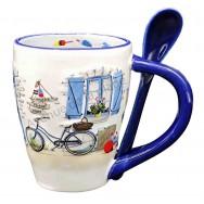 Mug avec cuillère maison de pêcheur