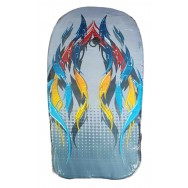 Bodyboard flamme et motif tribal