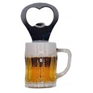 Magnet décapsuleur chope de bière