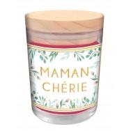 Bougie message Maman Chérie