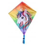 Cerf-volant Licorne multicolore pour enfant