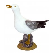 Statue mouette sur rocher 29 cm