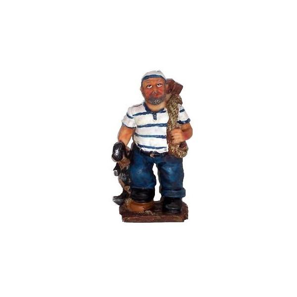 Statuette Matelot Avec Son Ancre Achat Vente D Co Th Me