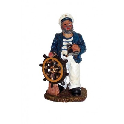 Statuette marin pêcheur 11 cm