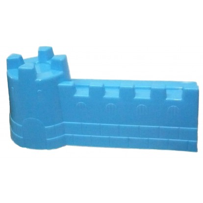 Moule à sable rempart 42 cm bleu