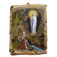 Cadre religieux, Notre Dame de Lourdes