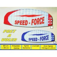 Voile de traction Speed Force 300 - kite pas cher.