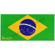 Serviette de plage drapeau du Brésil