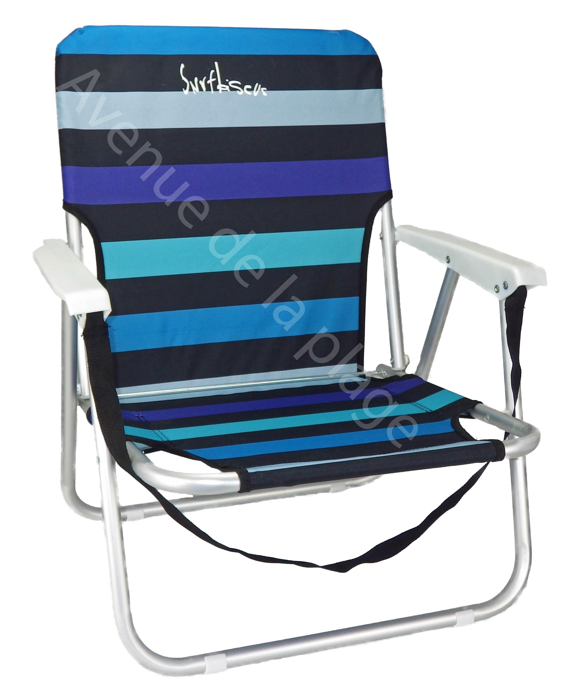 Chaise De Plage Basse En Aluminium Pas Cher Avenue De La Plage