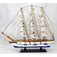 Voilier 3 mâts 50 cm - Maquette décorative