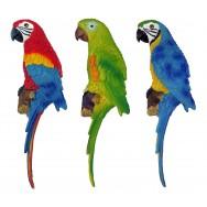Perroquet à accrocher 31 cm - Décoration de jardin