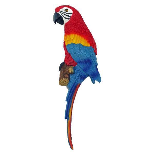 Perroquet accrocher 31 cm d co de jardin avenue de la plage - Perroquet a imprimer ...