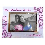 "Cadre photo ""Ma Meilleure Amie au Monde"""