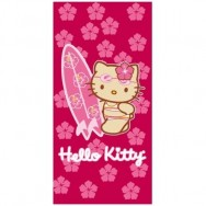 Serviette de plage Hello Kitty Hibiscus