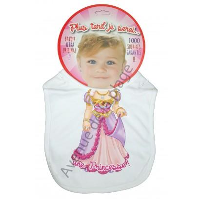 Bavoir bébé humoristique Princesse