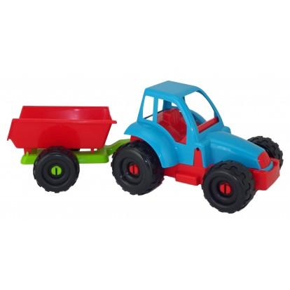 Tracteur + remorque 36 cm modèle A.