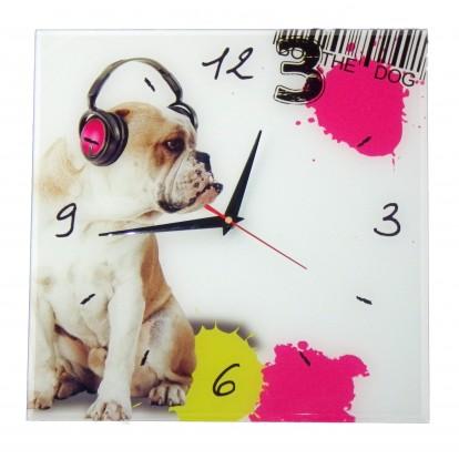 Pendule bulldog anglais - bouledogue