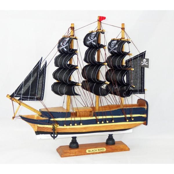 maquette voilier pirate black bird achat vente avenue de la plage. Black Bedroom Furniture Sets. Home Design Ideas