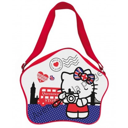 Sacoche à bandoulière Hello Kitty London - Drapeau Anglais