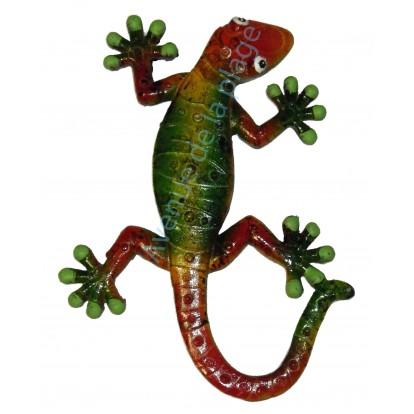 Gecko à accrocher au mur 16 cm, modèle D.