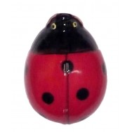Coccinelle céramique 11 cm