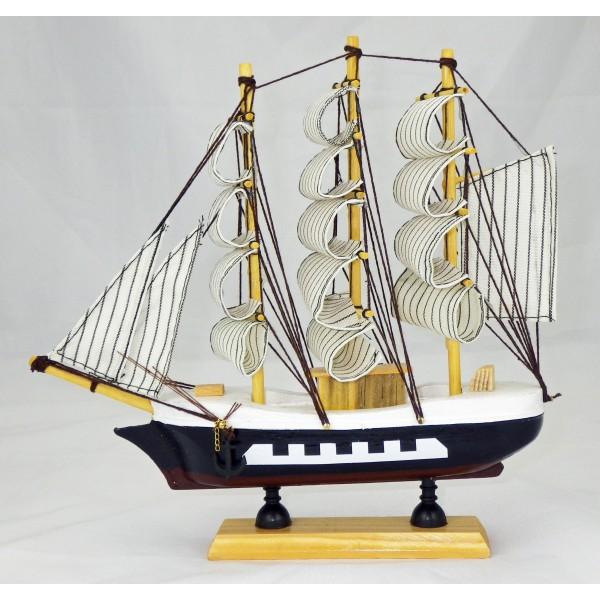 maquette d corative voilier 24 cm pas cher. Black Bedroom Furniture Sets. Home Design Ideas