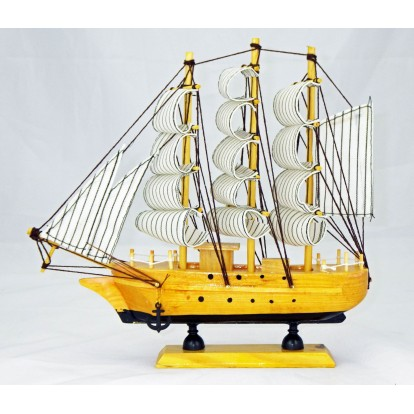 Maquette voilier Trois mâts 24 cm, modèle B.