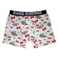 """Caleçon humoristique """"Kado Surprise"""" - """"Grosse surprise à l'intérieur"""""""
