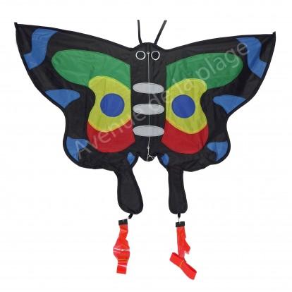 Cerf-volant monofil Papillon pour enfant.