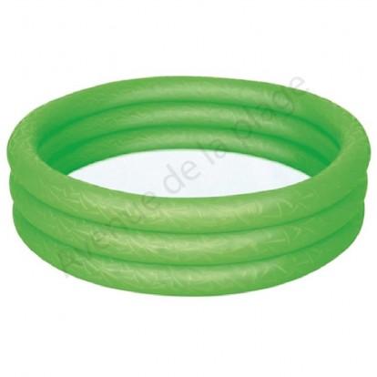 Piscine gonflable 102 cm pour enfant verte.