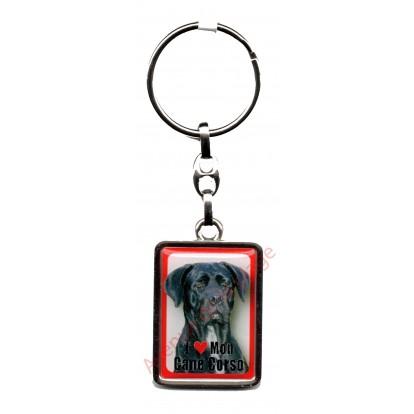 Porte clef J'aime mon Cane Corso