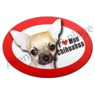 Magnet J'aime mon Chihuahua