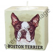 Bougeoir chien - Boston Terrier