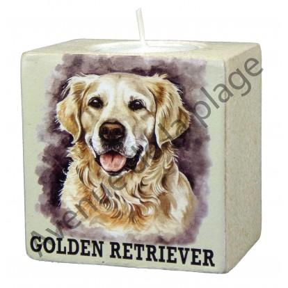 Bougeoir chien - Golden Retriever
