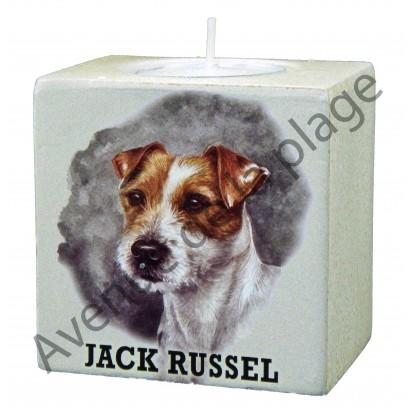 Bougeoir chien - Jack Russel modèle A.