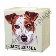 Bougeoir chien - Jack Russel