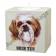 Bougeoir chien - Shih Tzu