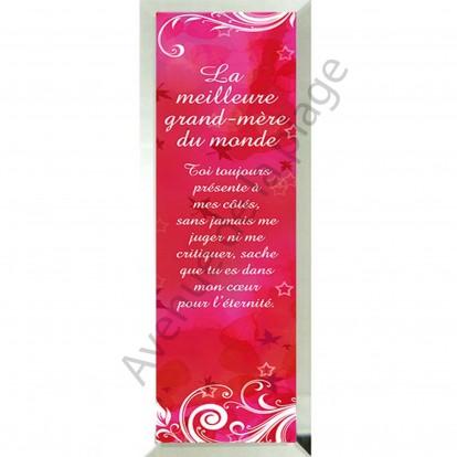 """Miroir message """"La Meilleure Grand-Mère du Monde"""""""