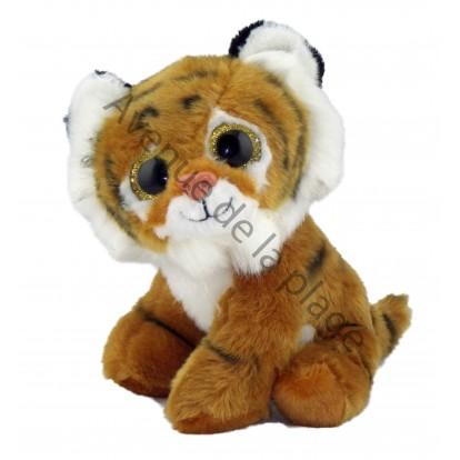 Peluche bébé Tigre yeux scintillants