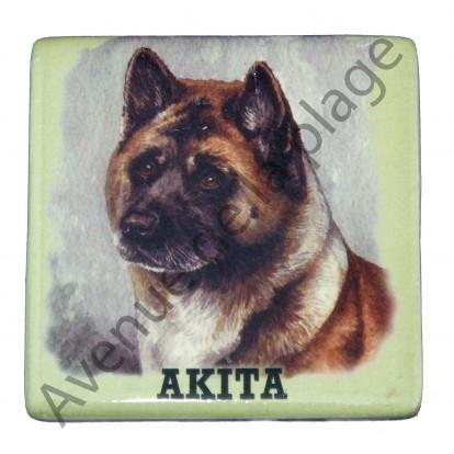 Magnet chien Akita
