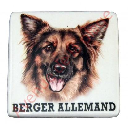 Magnet chien Berger Allemand à poil long.