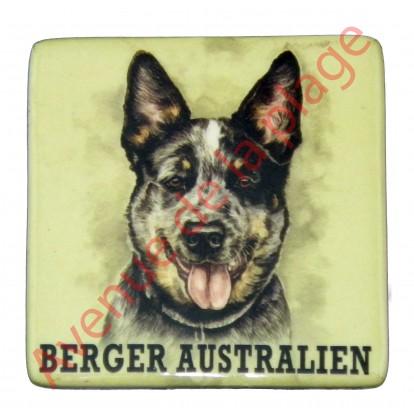 Magnet chien Berger Australien