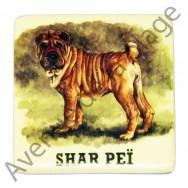 Magnet chien Shar Peï
