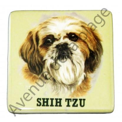 Magnet chien Shih Tzu