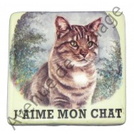 Magnet pour frigo Chat