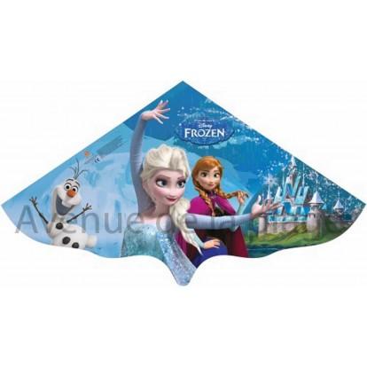 Cerf-volant Reine des Neiges avec Anna et Elsa.