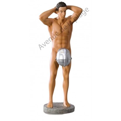 Figurine Pompier sans uniforme