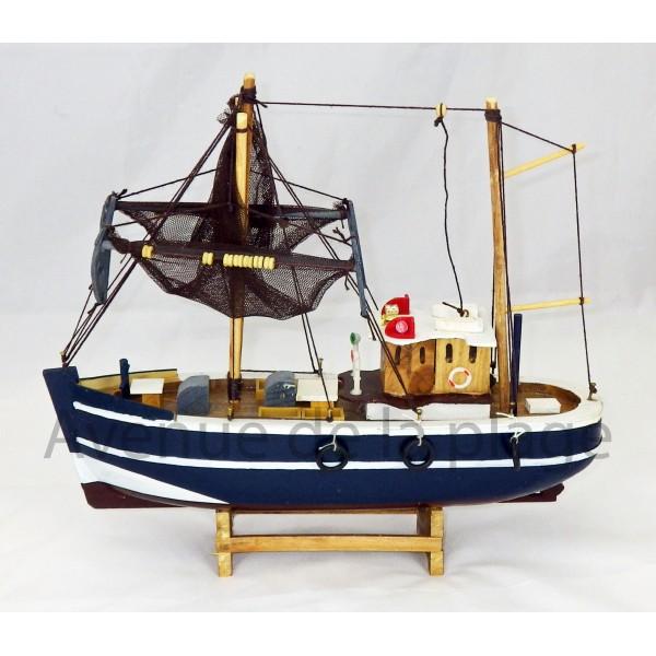 Maquette chalutier de p che achat vente d coration - Decoration marine pas cher ...