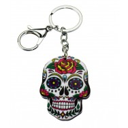 Porte clés Tête de mort Mexicaine